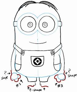 Free draw a minion coloring pages