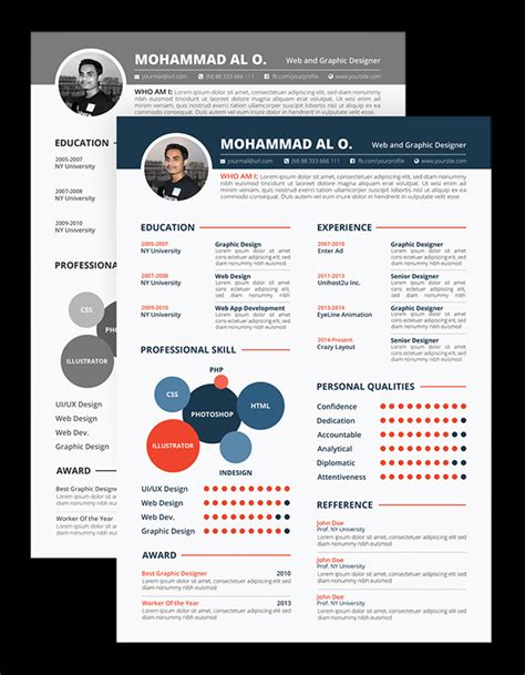 creating resumes in photoshop 26 new photoshop free psd files for designers freebies graphic design junction
