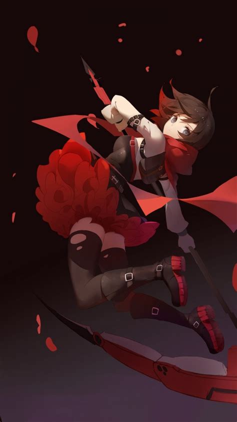 rwby ruby rose wallpapers hd wallpapers id