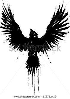 Crow Tattoo Designs by marcAhix.deviantart.com on