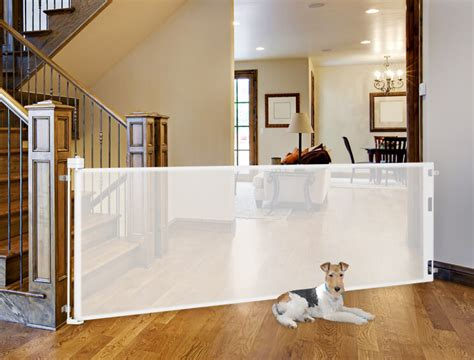 summer infant decor gate retract a gate for your dogs tough retractable