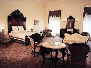 Full bedroom interior design, white house lincoln bedroom ...