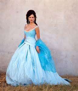 blue wedding gown blue wedding dresses dressed up