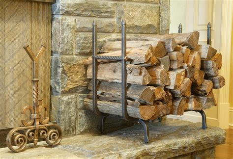 fireplace wood holder diy metal firewood holder the homy design