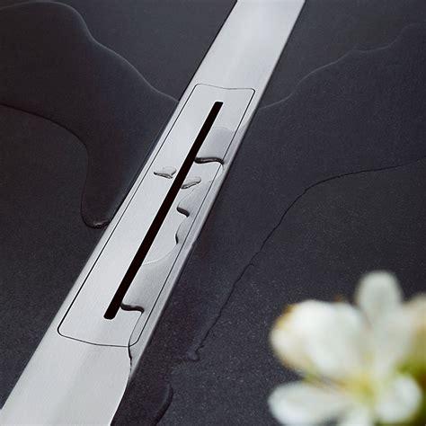 sanibel duschrinne  exklusivem design der marke sanibel