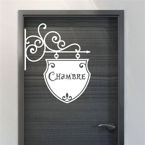 stickers de chambre sticker porte chambre romantique stickers chambre ado