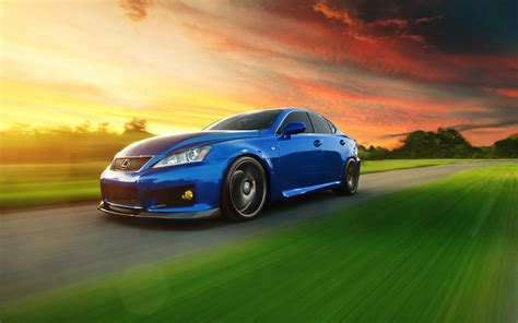 lexus isf wallpaper wallpaper road lexus lexus is speed lexus is f blue