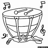 Timpani Coloring Musical Instruments Pages Drawing Wind Notes Drum Choir Drawings Chime Thecolor Clipart Template Orchestra Templates Drums Sketch Note sketch template