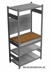 Regal Mit Arbeitsplatte : werkstatt garagenregal mit arbeitsplatte schublade ~ Michelbontemps.com Haus und Dekorationen