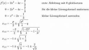 Nullstellen Berechnen Ableitung : monotonie einer funktion feststellen ~ Themetempest.com Abrechnung