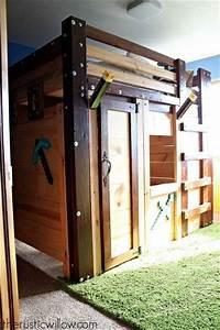 Hometalk DIY Fort Bed for Children's Bedroom