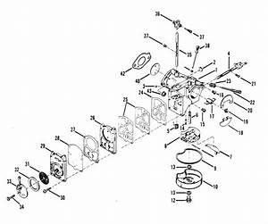 Mercury Marine 50 Hp  4 Cylinder  Carburetor Assembly