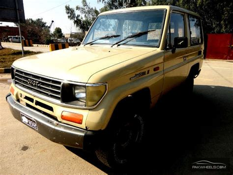 toyota land cruiser vx limited 4 7 1992 for sale in lahore pakwheels