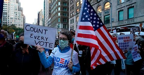 Yesterday electoral college electors convened virtually or in person in state capitals across the country to cast their votes. US Elections 2020: People protest in New York, Detroit, Manhattan ahead of poll results