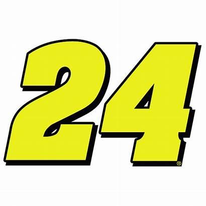 Number Gordon Jeff Hendrick Motorsports Decals Stickers