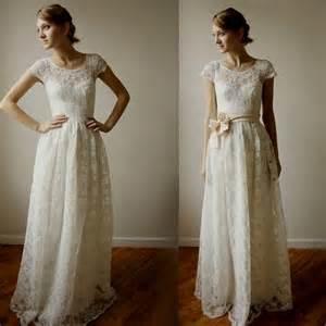 simple lace wedding dress simple lace vintage wedding dresses naf dresses