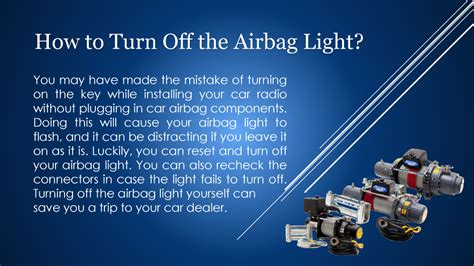 How To Turn Off The Airbag Light Authorstream