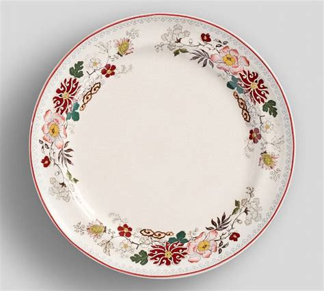 Teller Vintage by Vintage Floral Dinner Plate Set Of 4 Pottery Barn