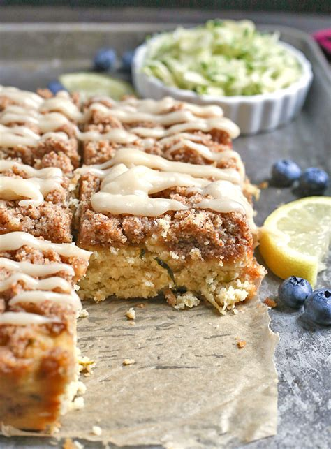 My husband always says i have a green thumb because i didn't grow up on a farm or with a backyard garden, in fact i grew up in an. Paleo Lemon Zucchini Coffee Cake - Jay's Baking Me Crazy