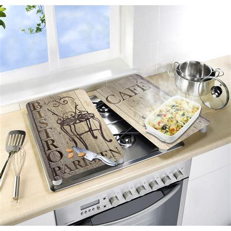 plaque verre cuisine plaque de protection en verre avec plateau bistrot leroy