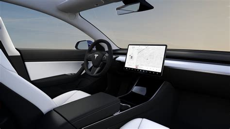 tesla releases stunning white interior  dual motor