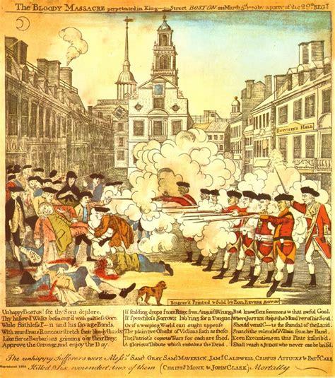 Boston Massacre by Paul Revere Boston Massacre Newhairstylesformen2014