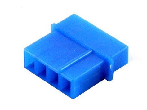 4 pin uv l connector 4 pin molex connector male uv blue buy at coolerkit com