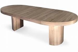 Table Ronde Extensible Design : table ronde extensible ch ne megara design sur sofactory ~ Teatrodelosmanantiales.com Idées de Décoration