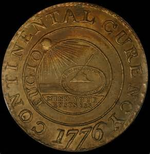 1776 Continental Currency Coin