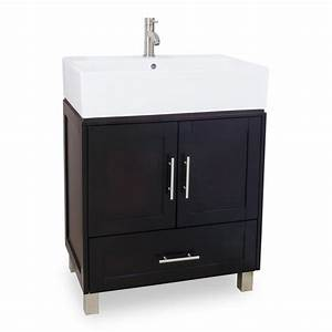 """28"""" York Bathroom Vanity Single Sink Cabinet :: Bathroom"""