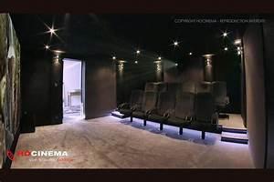 Cinema A La Maison : hocinema la salle de cin ma maison draco en d tail ~ Louise-bijoux.com Idées de Décoration
