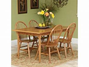 90+ [ Windsor Warwick Solid Oak Table With 4 Chairs