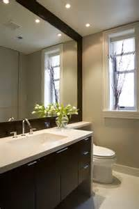 Ideas For Bathroom Mirrors Phenomenal Large Framed Bathroom Mirrors Decorating Ideas Images In Bathroom Contemporary Design