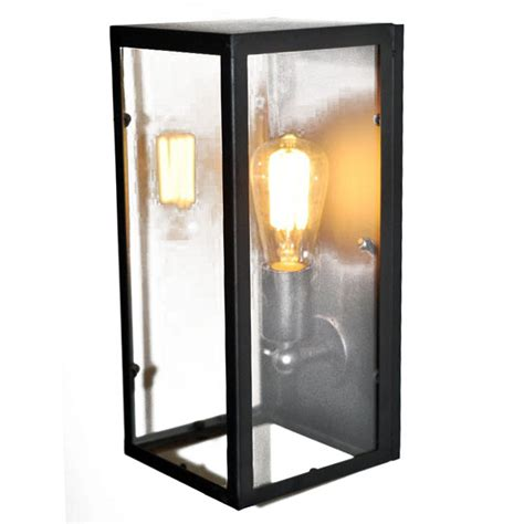 loft industrial box wall sconce 9814 browse project lighting and modern lighting fixtures for