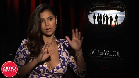 "Roselyn Sanchez Talks ""Act Of Valor"" With AMC - YouTube"