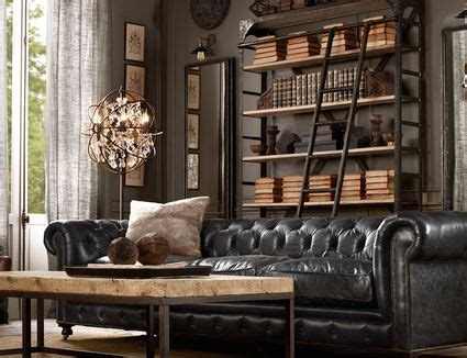 elements  modern masculine room decor