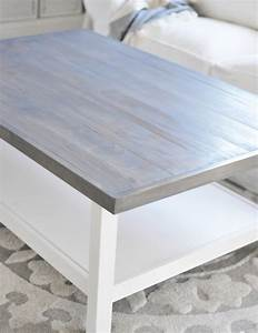 weathered gray coffee table centsational girl With how to stain a coffee table