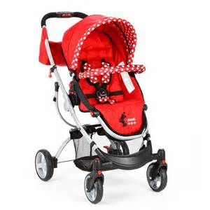 Minnie Mouse Baby Car Seat and Stroller