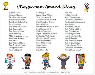 classroom awards make feel special elementary 216   5b35020bf0721aaa5fb4472260a373ee preschool graduation kindergarten awards ideas