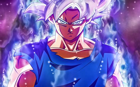 wallpaper ultra instinct goku super saiyan silver goku