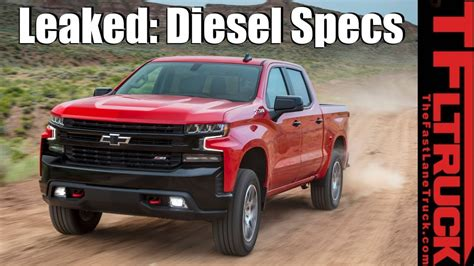 Ford Diesel Truck Mpg by Breaking News 2019 Chevy Silverado Gmc 3 0l