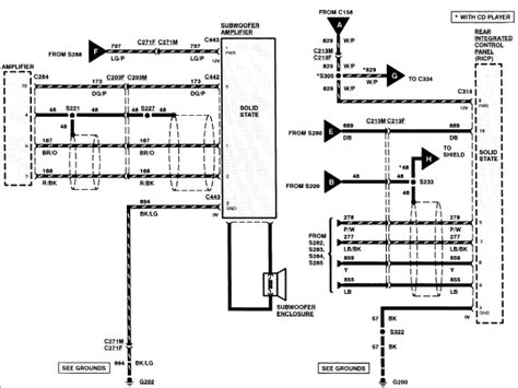 Lincoln Navigator Wiring Harnes Diagram by 2006 Lincoln Navigator Rear Parts Diagram Fo
