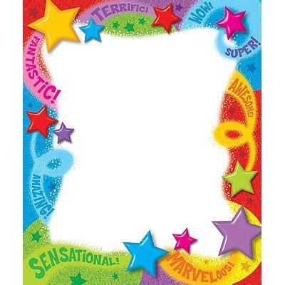praise words  stars note pad rectangle