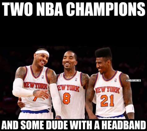 Carmelo Anthony Meme Iman Shumpert Hilariously Roasts His Cavs Teammates