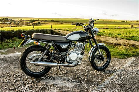 A Scrambler-style Retro 250 For £2,200