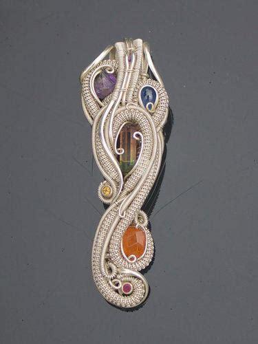 handmade wire wrapped jewelry heady  bazaarsruscom