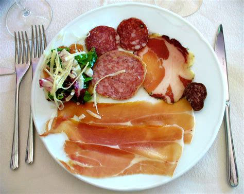 cuisine en italie antipasto