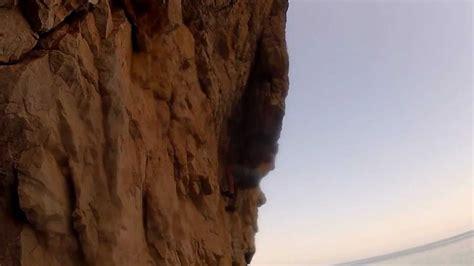 Oman Deep Water Soloing Dwsing Uae Rock Climbing Youtube