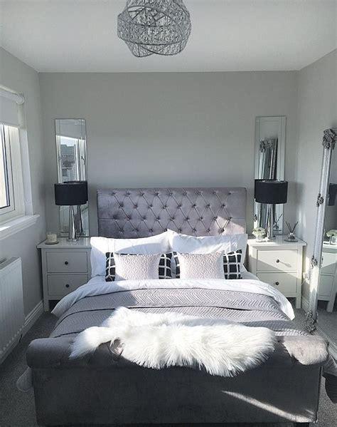 master bedroom inspo bedroom goals black  white silver
