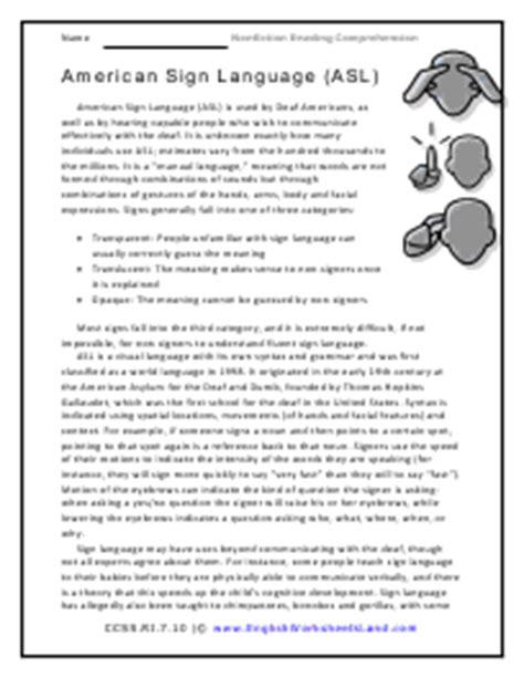 grade 7 nonfiction reading comprehension worksheets